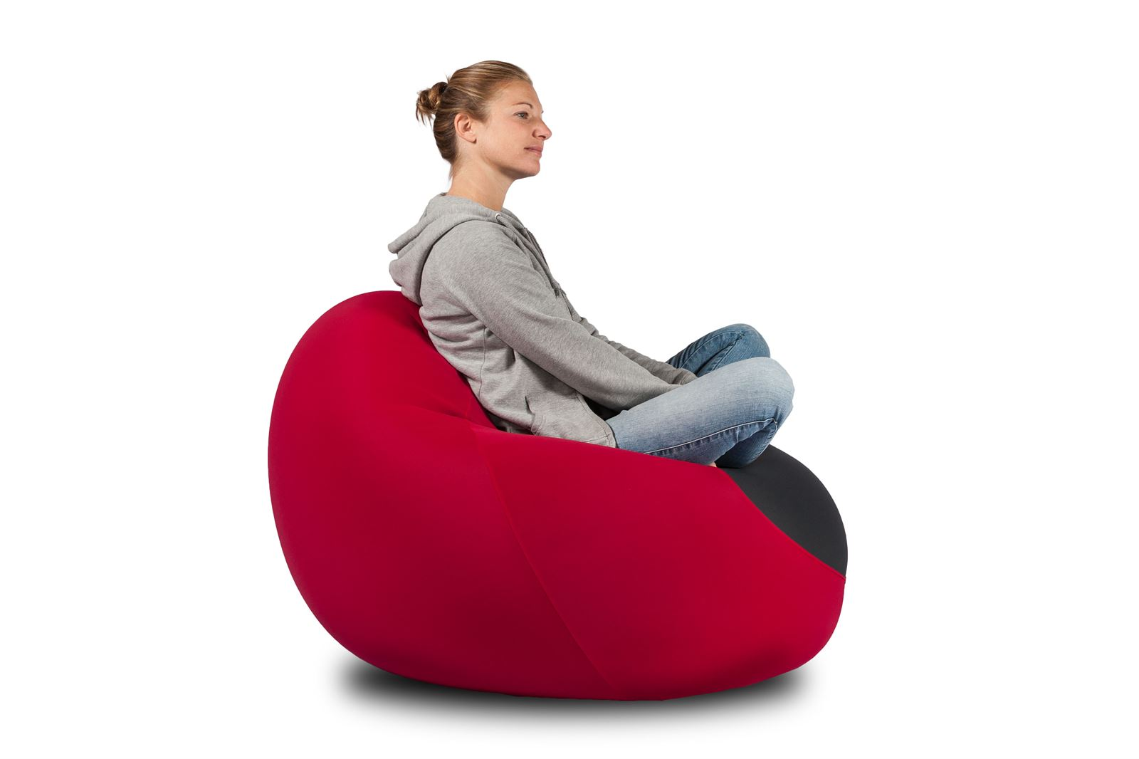 X-Drop Pouf da interno Bordeaux