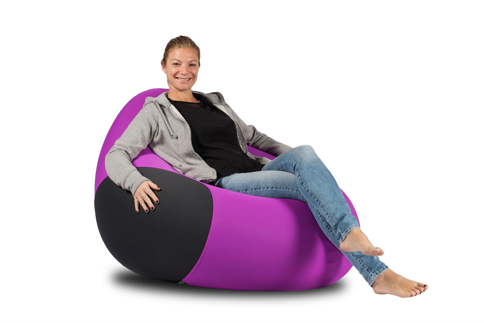 X-Drop Pouf da interno Lilla