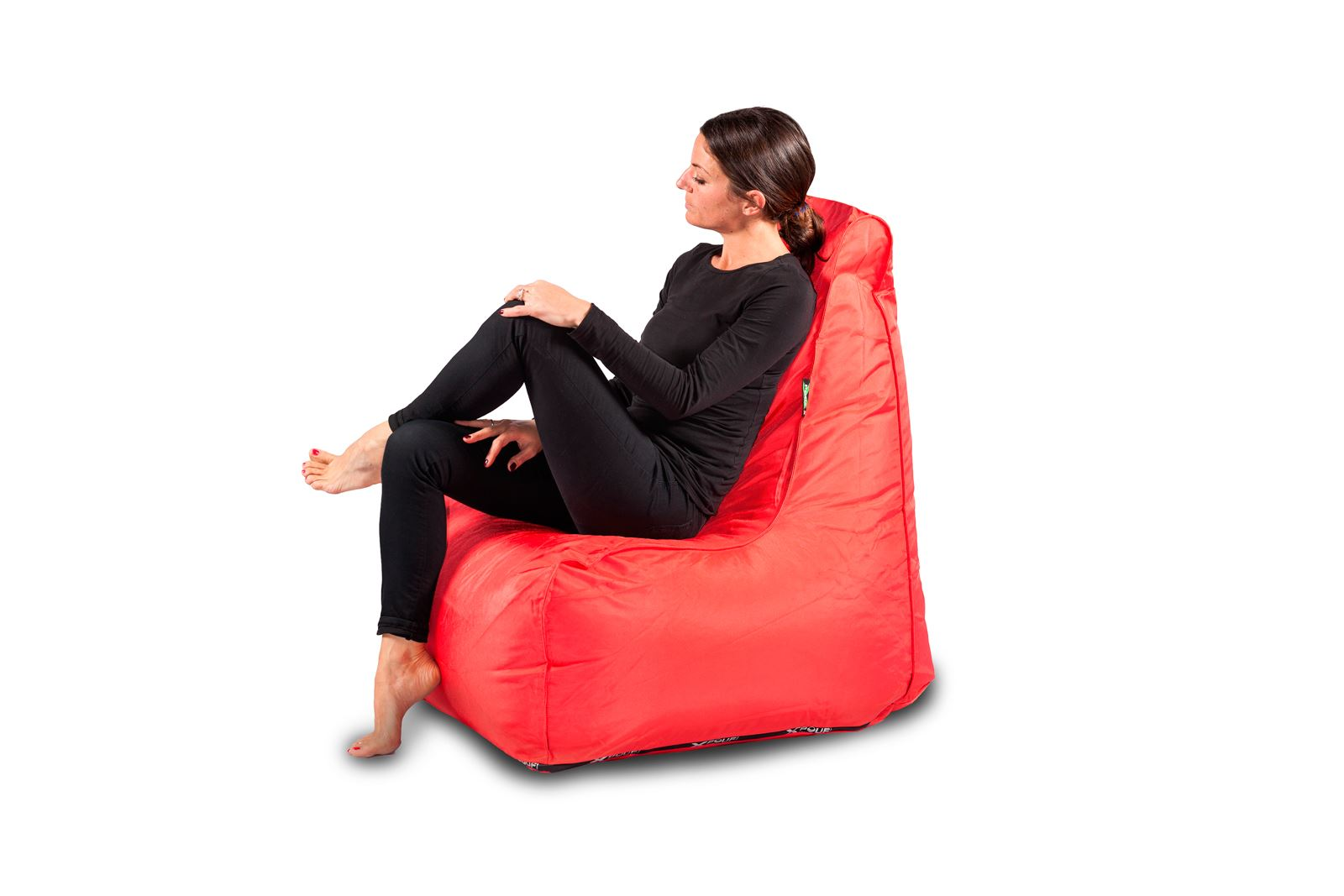 X-CHAIR  Outdoor Pouf Rosso