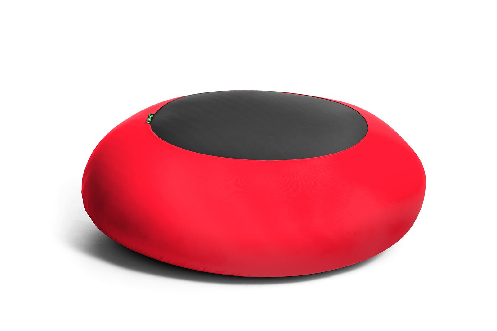 X-DISC Indoor Pouf Rosso