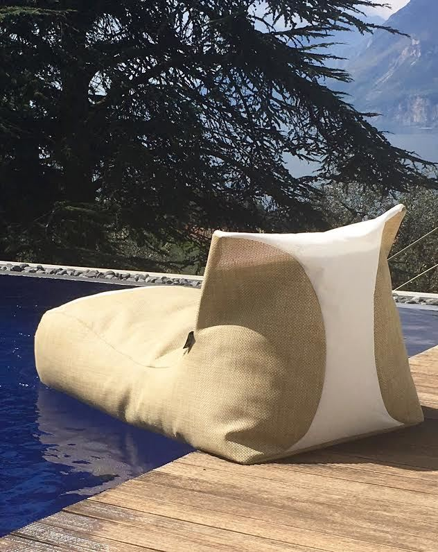 X-LONG RATTAN / lettino  galleggiante