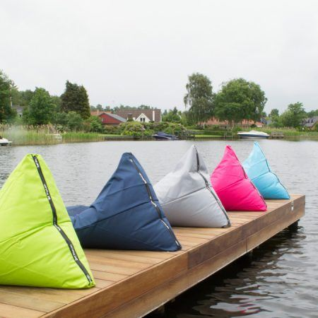 X-TRIANGLE Outdoor Pouf Verde