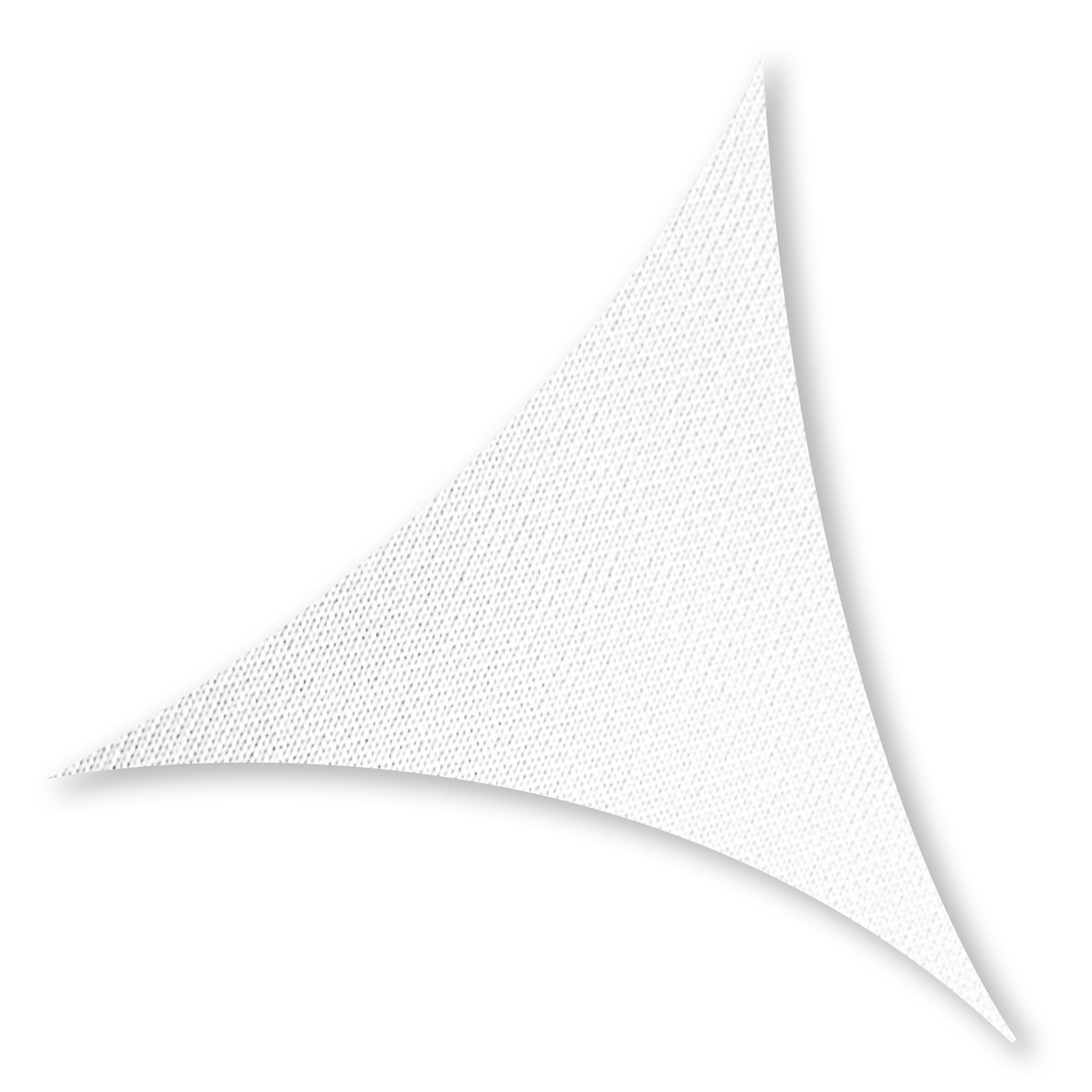 TRIANGLE L 5,00 x 5,00m Sun Shade Sail Bianco
