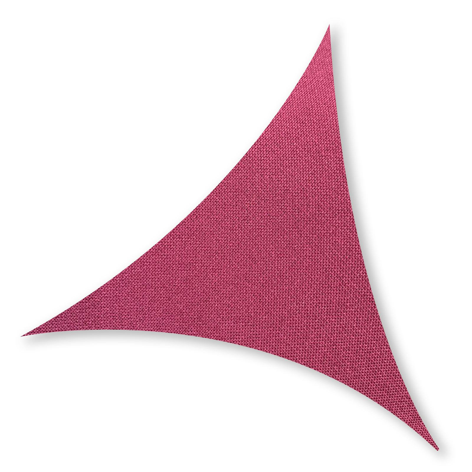 TRIANGLE L 5,00 x 5,00m Sun Shade Sail Bordeaux