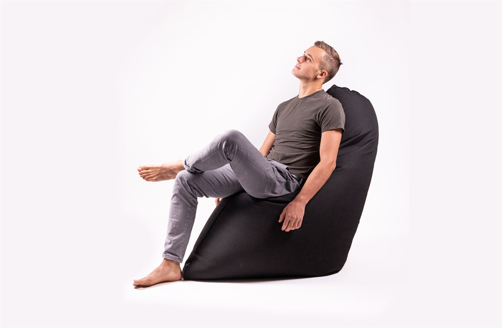CHILL CHAIR  Pouf  IN&OUT Nero