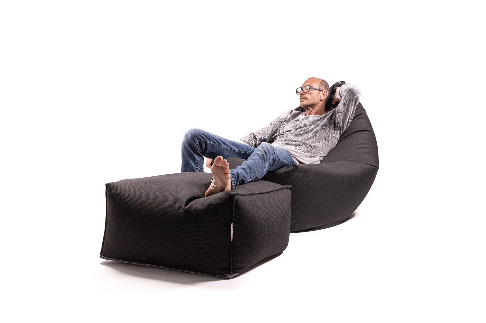 XXL PILLOW  Pouf  IN&OUT Nero