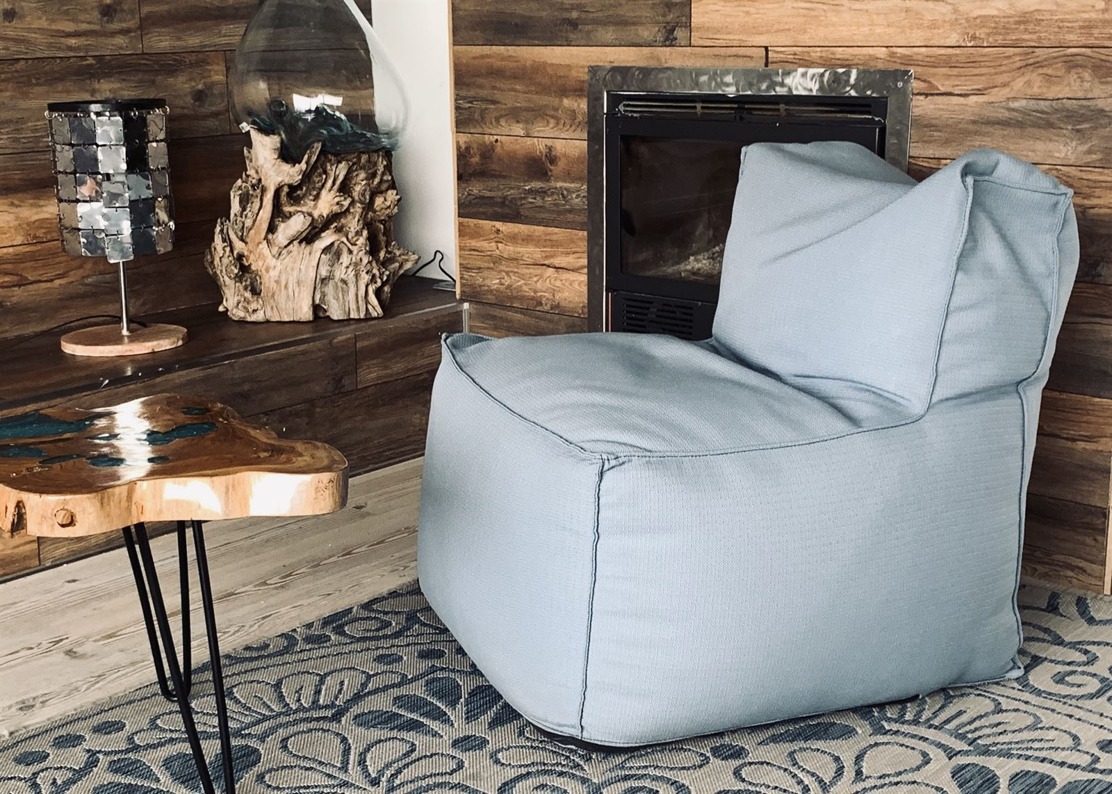 LIVING CHAIR  Pouf  IN&OUT